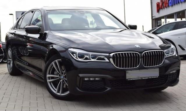 BMW 740  320 CP   - 52731 €,   57916 km,  anul 2017,  culoare negru