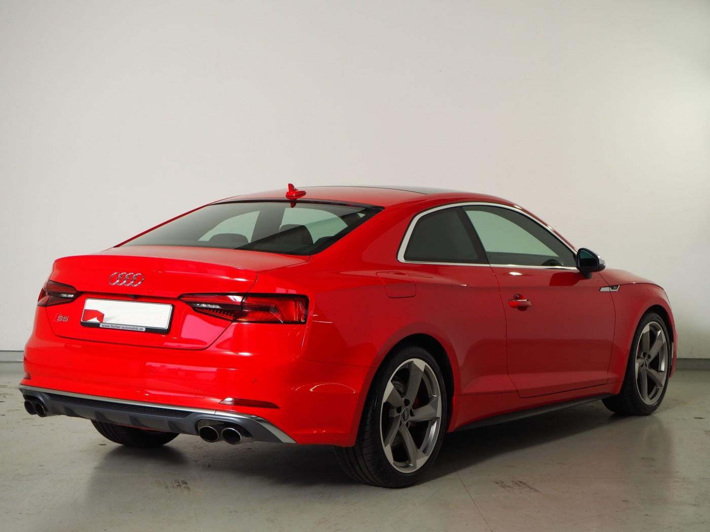 Audi S5  354 CP   - 45018 €,   6639 km,  anul 2017,  culoare rosu