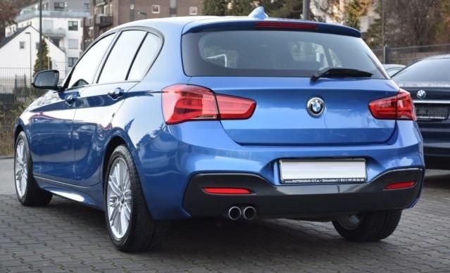 BMW 125  224 CP   - 24570 €,   6608 km,  anul 2018,  culoare albastru