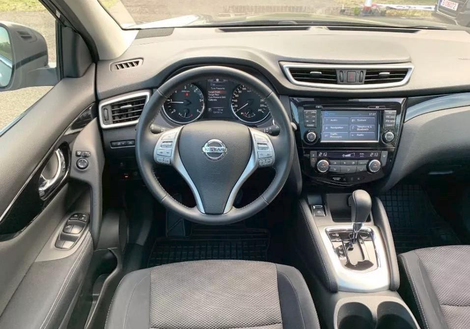 Nissan Qashqai  130 CP   - 15000 €,   121000 km,  anul 2015,  culoare gri
