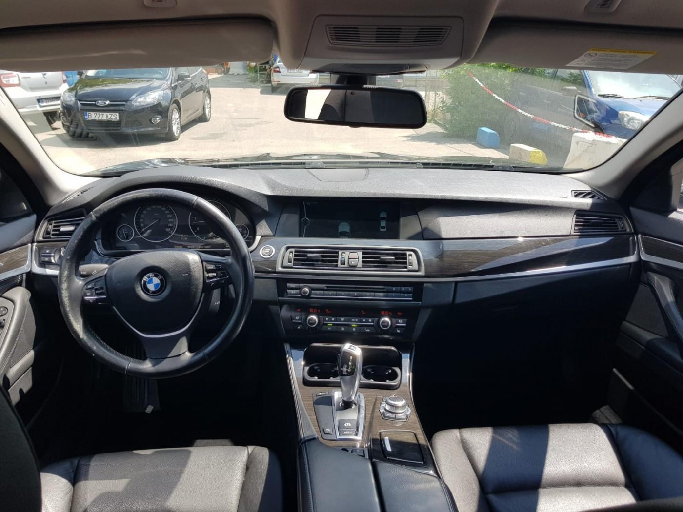 BMW 525  204 CP   - 14300 €,   278985 km,  anul 2011,  culoare negru