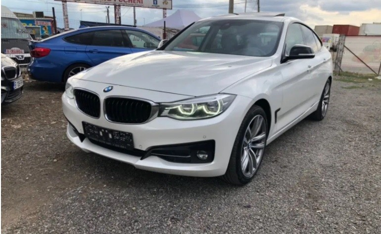 BMW 320  190 CP   - 23900 €,   147000 km,  anul 2018,  culoare alb