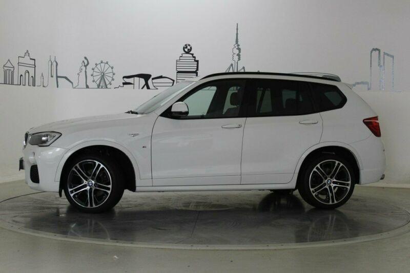 BMW X3  190 CP   - 32964 €,   104160 km,  anul 2017,  culoare alb
