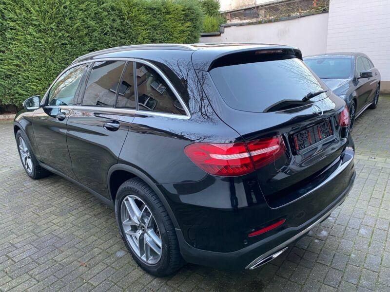 Mercedes Benz GLC  204 CP   - 37500 €,   120100 km,  anul 2018,  culoare negru