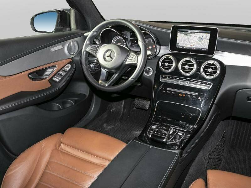 Mercedes Benz GLC  170 CP   - 41200 €,   58990 km,  anul 2018,  culoare negru