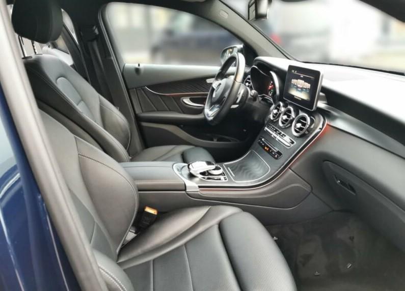 Mercedes Benz GLC Coupe  258 CP   - 43900 €,   82200 km,  anul 2018,  culoare albastru