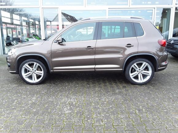 Volkswagen Tiguan  177 CP   - 17500 €,   81900 km,  anul 2014,  culoare maro