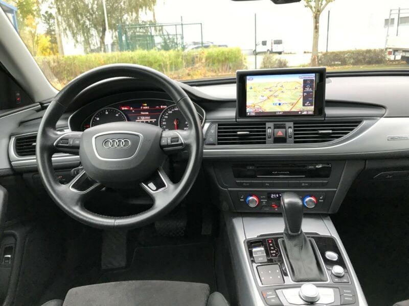 Audi A6  218 CP   - 28300 €,   157700 km,  anul 2017,  culoare negru