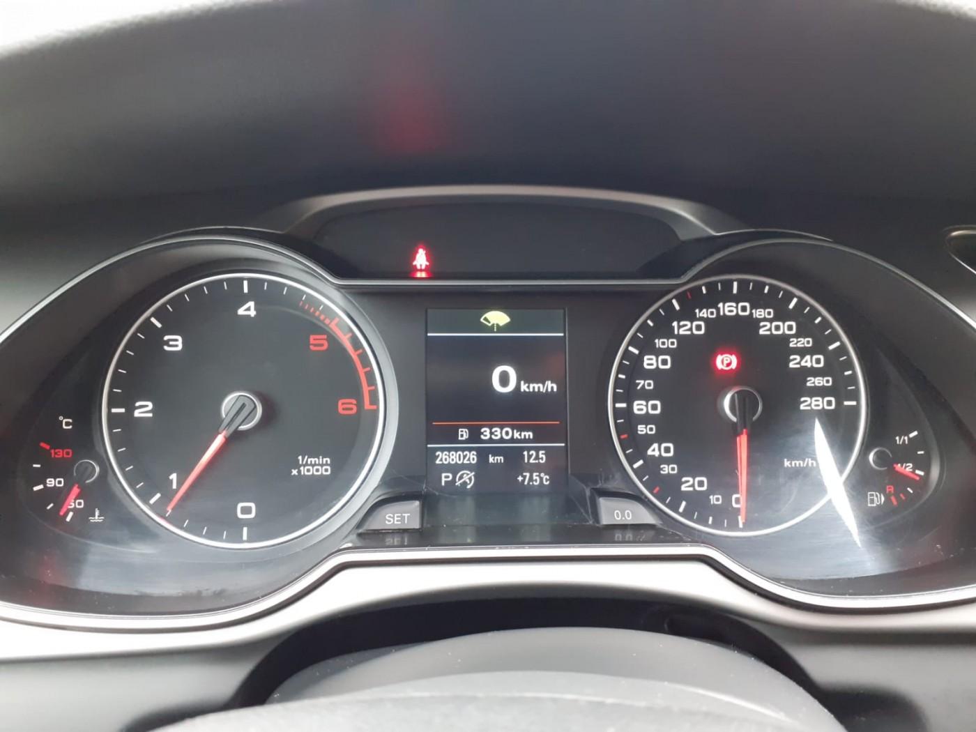 Audi A4  150 CP   - 12990 €,   268026 km,  anul 2015,  culoare negru