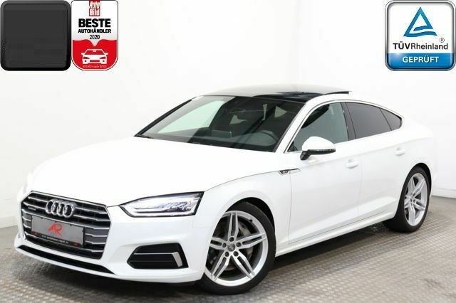 Audi A5  286 CP   - 39700 €,   97600 km,  anul 2018,  culoare alb