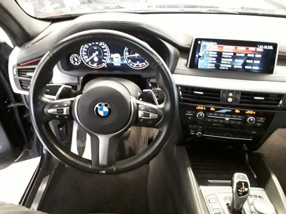 BMW X6  258 CP   - 42900 €,   138390 km,  anul 2017,  culoare negru