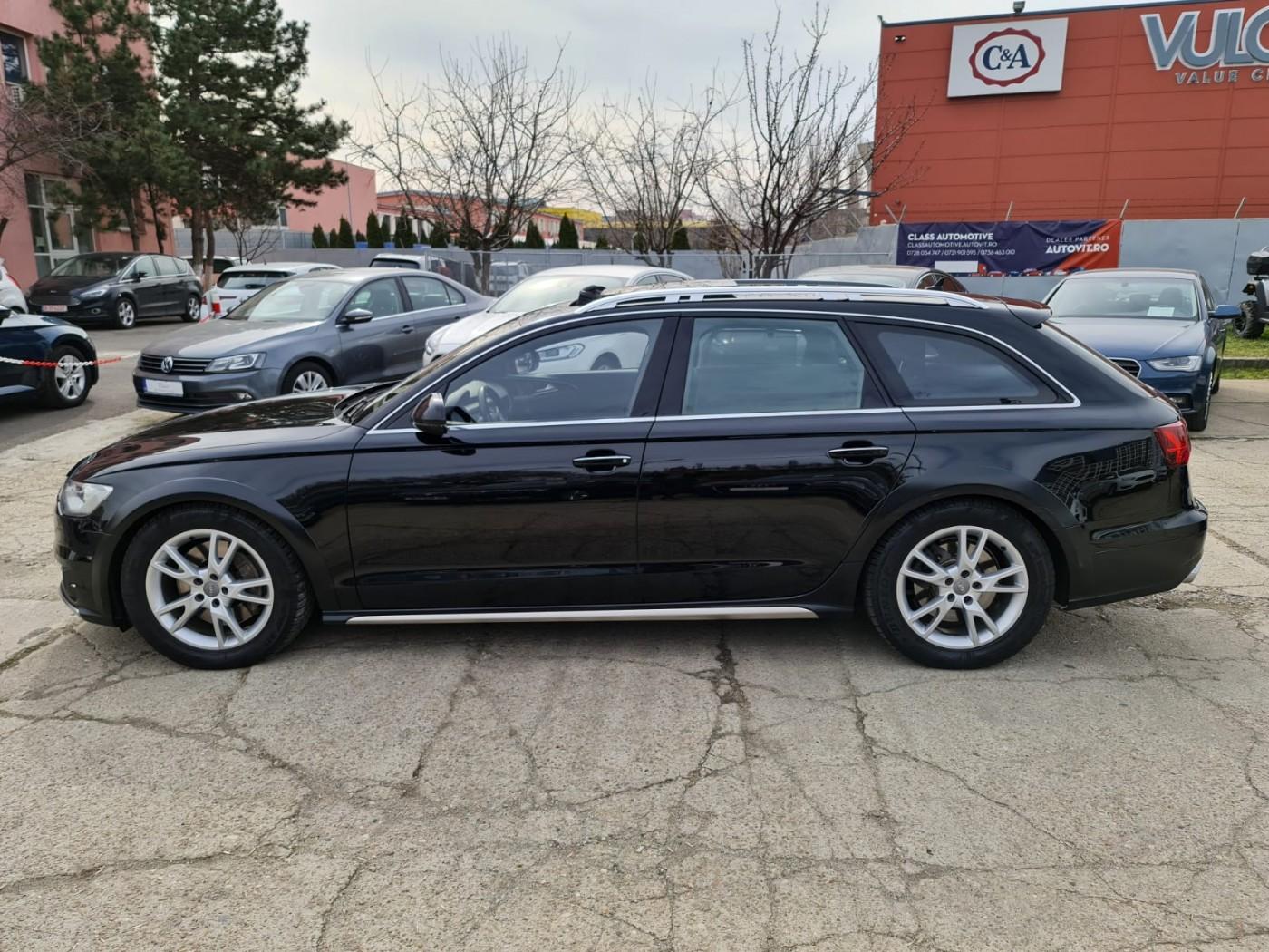Audi A6 Allroad  320 CP   - 36500 €,   87000 km,  anul 2016,  culoare negru
