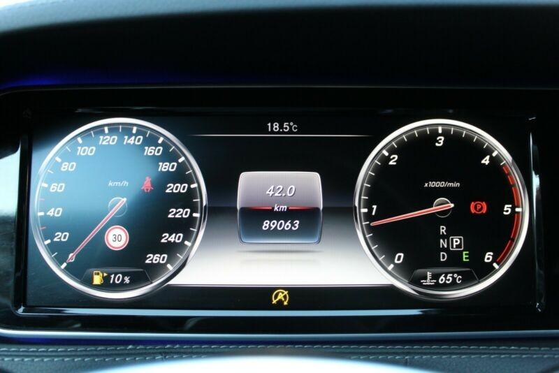Mercedes Benz S  258 CP   - 54400 €,   88950 km,  anul 2017,  culoare negru