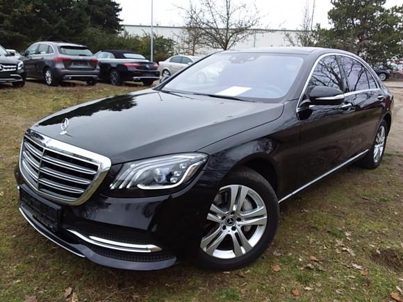 Mercedes Benz S  286 CP   - 54700 €,   47100 km,  anul 2018,  culoare negru