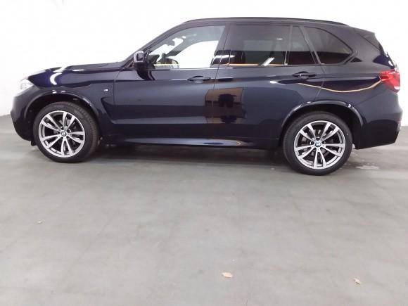 BMW X5  258 CP   - 40200 €,   132200 km,  anul 2017,  culoare albastru