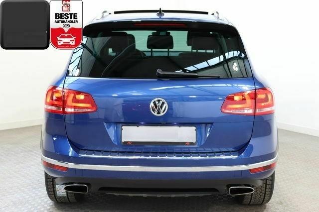 Volkswagen Touareg  262 CP   - 35500 €,   79950 km,  anul 2017,  culoare albastru